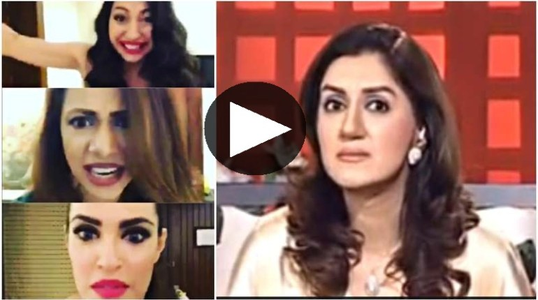 pakistani models making fun of ayesha sana