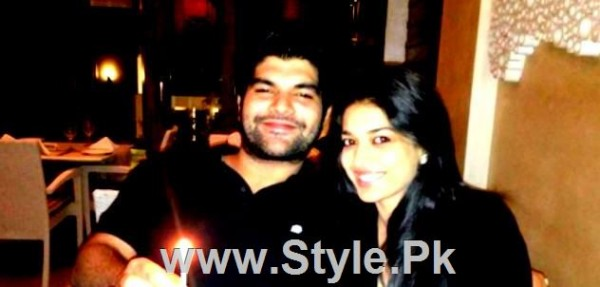 Pictures of Sanam Jung with her Fiance Qassam Jafri