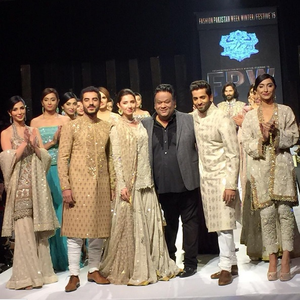 Adeel Hussain Shehryar Munawwar and Mahira Khan