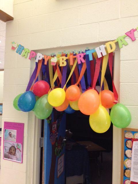 Birthday Decoration Ideas 2016 -door