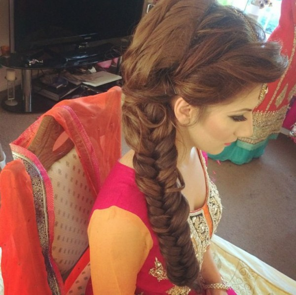 Bridal Hairstyles  -fish tail