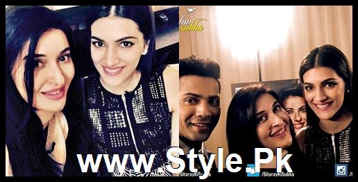 Cast of movie Dilwale with Shaista Lodhi in Sitaray Ki Subha (2)