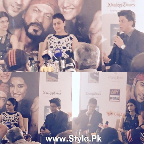 Cast of movie Dilwale with Shaista Lodhi in Sitaray Ki Subha (5)