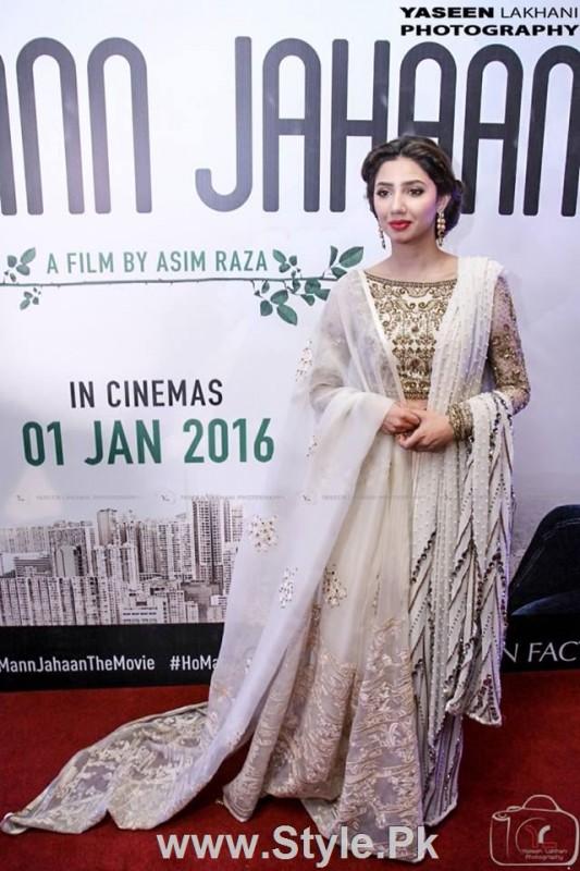 Celebrities at the Karachi Premiere of Ho Mann Jahan (3)