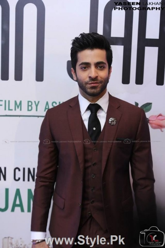 Celebrities at the Karachi Premiere of Ho Mann Jahan (6)