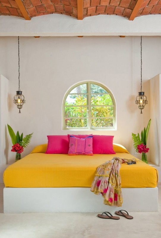 Colorful Interior Home Decoration-bed
