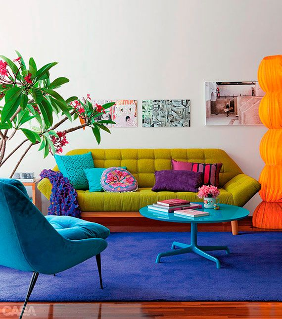 Colorful Interior Home Decoration- colors