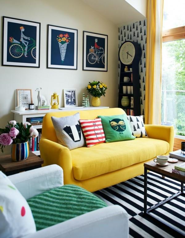 Colorful Interior Home Decoration- unique