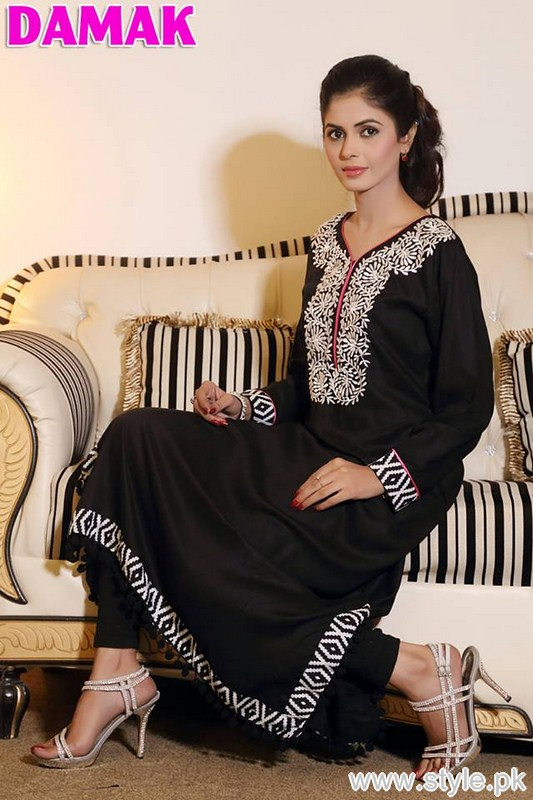 Damak Winter Collection 2016 For Women 7