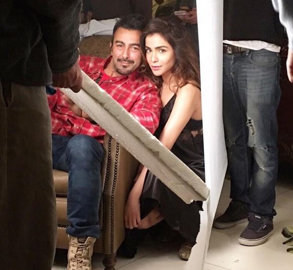 Humaima Malik and Shaan Shahid