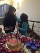 Javeria Saud daughter Jannat birthday 14