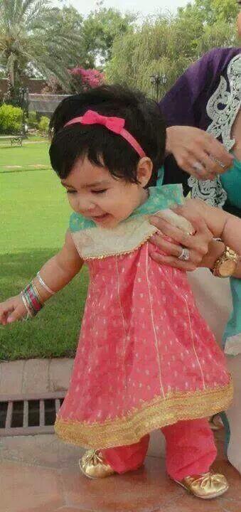 Kids Fancy dresses 2016 in Pakistan-pink blue