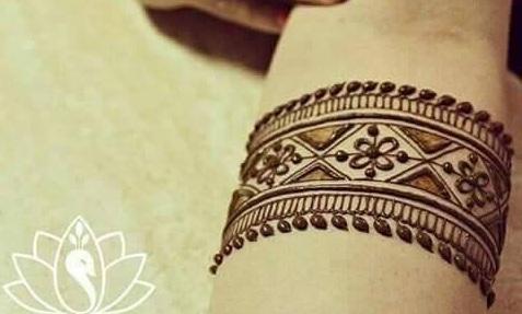 Mehndi Tattoo 2016 in pakistan