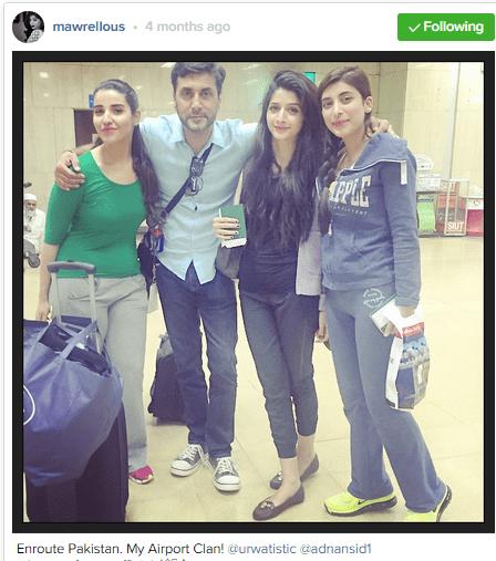 Pakistani celebrities During Travelling-hareem