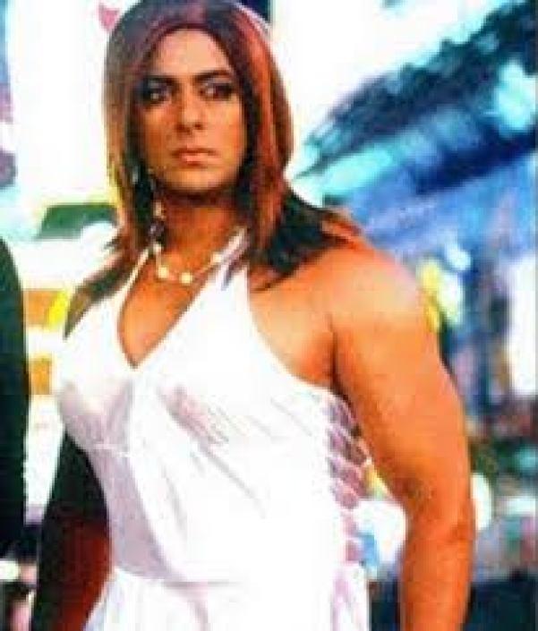 Salman Khan in makeup