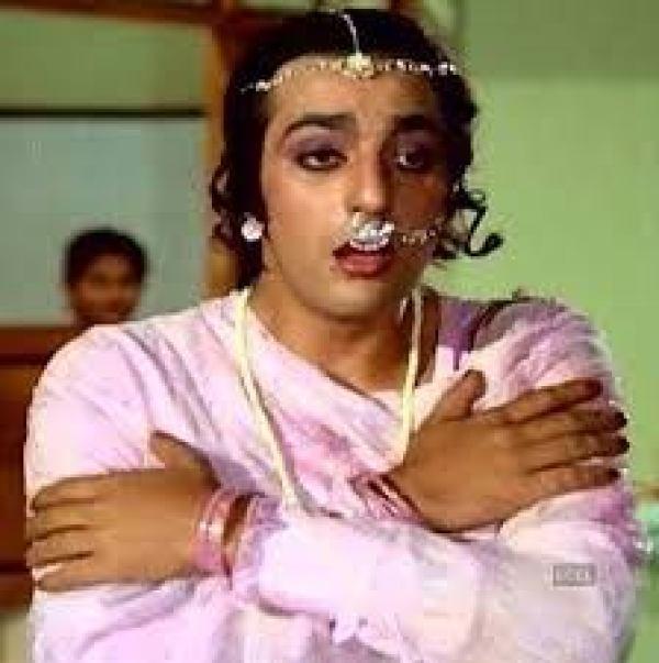 Sanjay Dutt in women clothes