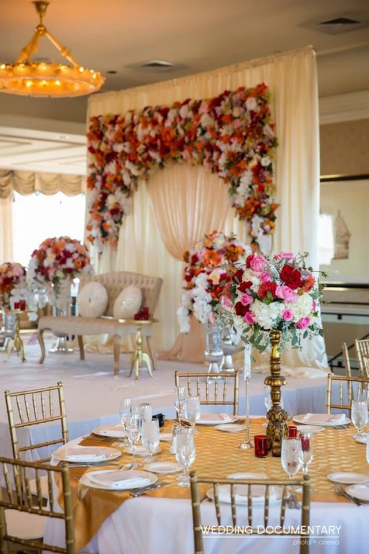Wedding  Stage Decoration Ideas 2016- multi