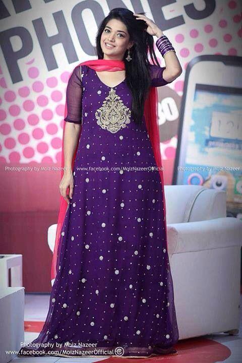 Purple Fancy Girls Dresses