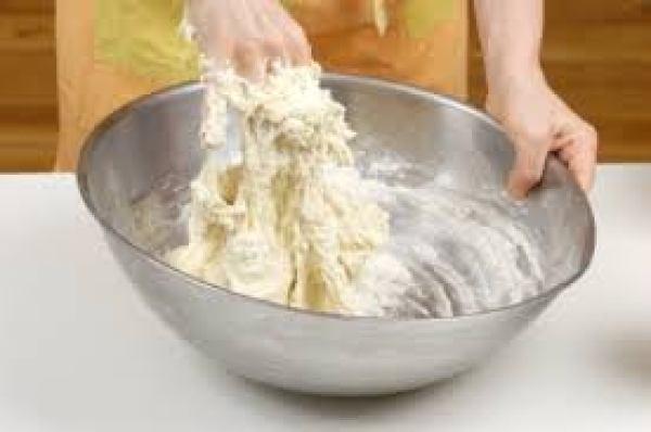 sticky dough chappati