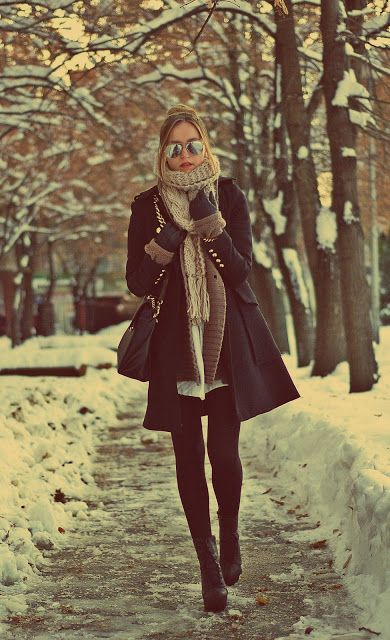 winter scarf trend 2016-  style