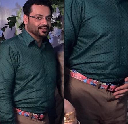 Aamir Liaquat funny dress