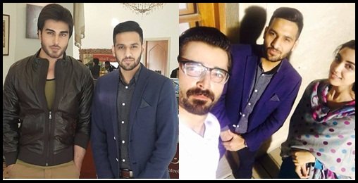 See Cast of Tum Kon Piya and Mann Mayal with Zaid Ali