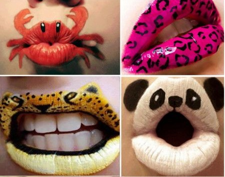 Crazy and Funny lip art