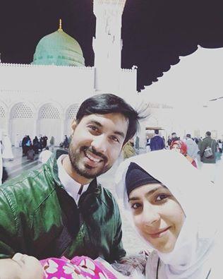 Dua Malik peformed Umrah with her Family (2)
