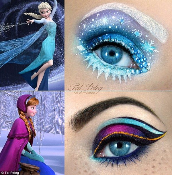 Eye Makeup for Disney Lovers-creative