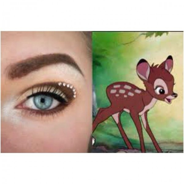 Eye Makeup for Disney Lovers- deer