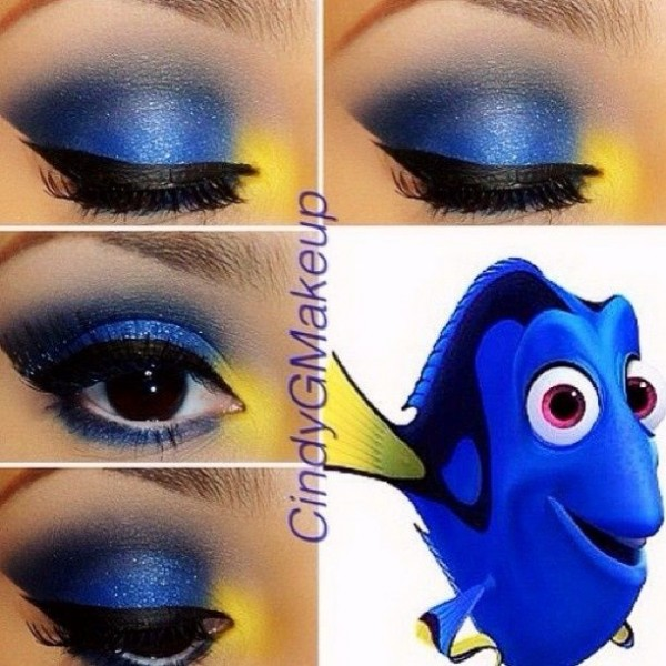 Eye Makeup for Disney Lovers- emo