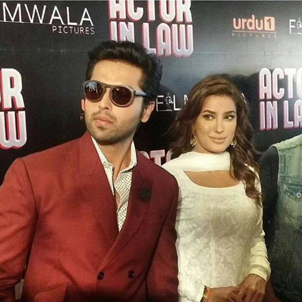 See Fahad Mustafa and Mehwish Hayat Khan are all set to work in Actor in Law