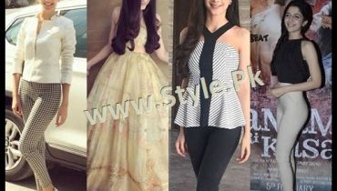 See Fashion Diva Mawra Hocane during promotions of Sanam Teri Kasam