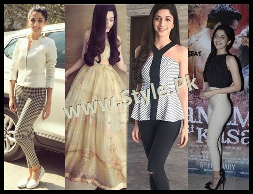 See Fashion Diva Mawra Hocane during promotions of Sanam Teri Kasam