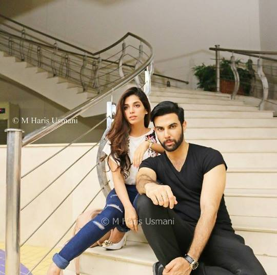 Latest Photoshoot of Sonya Hussain and Noor Hassan for Kisay Chahun (3)