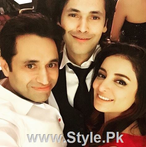 Pictures of Pakistani Celebrities on New year's Eve (2)