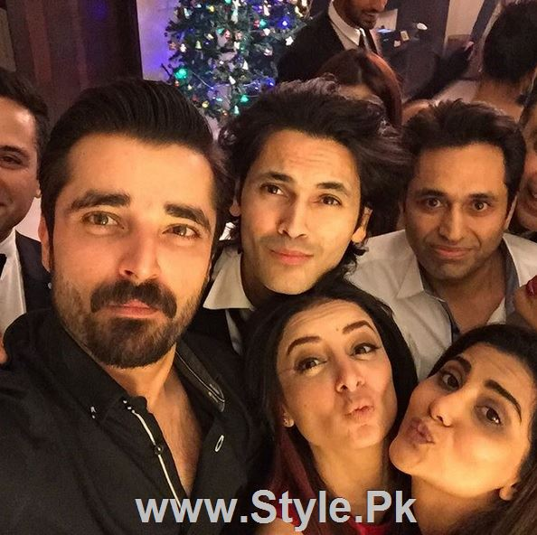 Pictures of Pakistani Celebrities on New year's Eve (3)