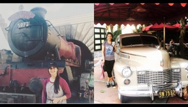 See Rabab Hashim is on vacations in USA