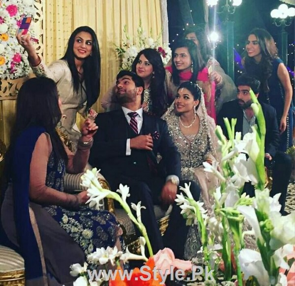 See Sanam Jung's Reception Pictures