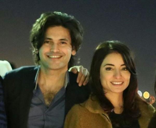 Sarwat gilani celebrated her Birthday-couple