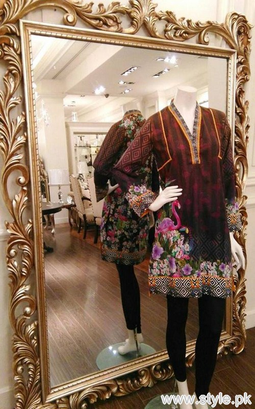 Threads and Motifs Winter Kurtas 2016 For Girls 6