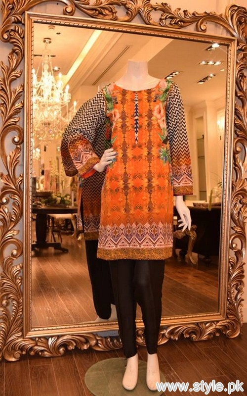 Threads and Motifs Winter Kurtas 2016 For Girls 7