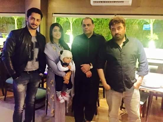 See Yasir Nawaz arranged Birthday dinner for Ayeza Khan