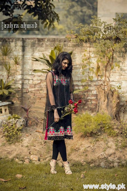 Zahra Ahmad Part Dresses 2016 For Girls and Women 5