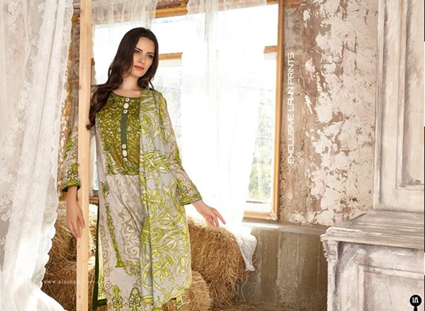 Al Zohaib Textile Lawn dresses 2016 For Women008