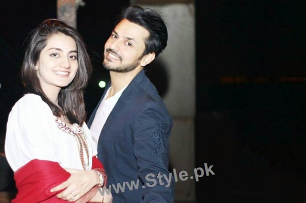 Bilal Qureshi and Uroosa Qureshi Celebrating 1st Wedding Anniversary (3)