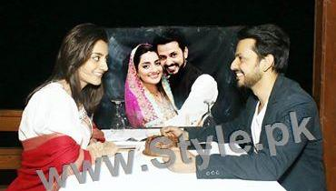 See Bilal Qureshi and Uroosa Qureshi Celebrating 1st Wedding Anniversary