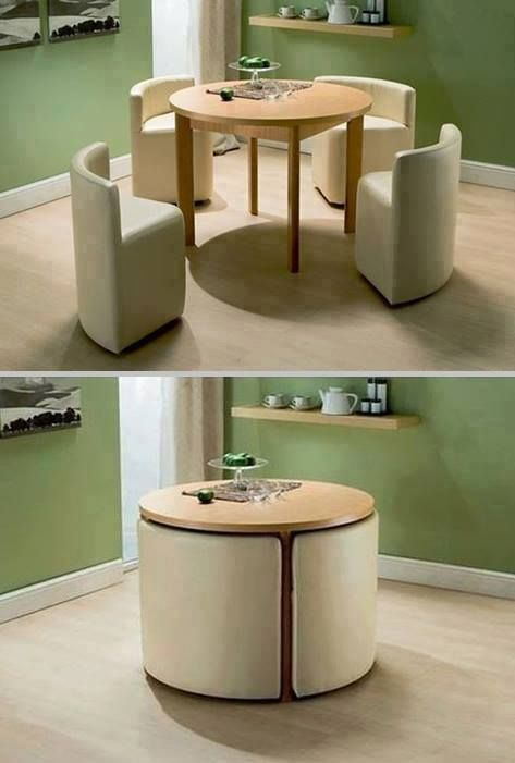 Convertible Furniture Ideas for Small Space.table