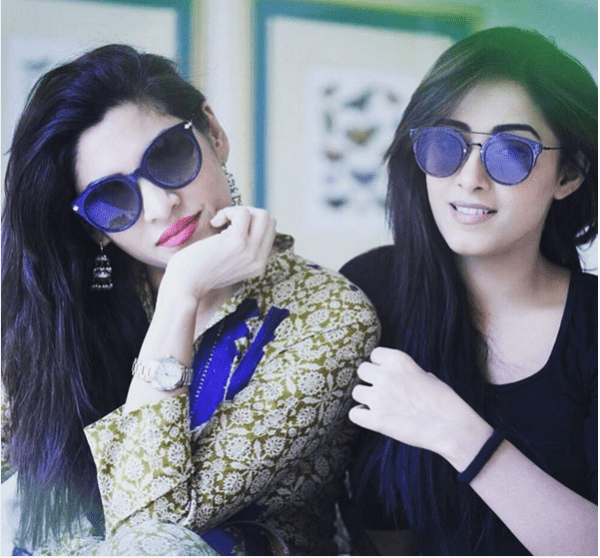 Exclusive Pictures of Noor Hassan and Sanam Chaudhry. zalay
