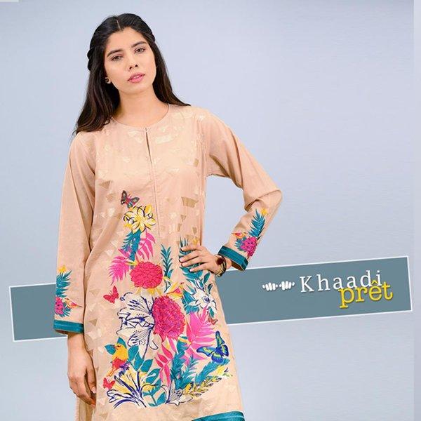 Khaadi Pret Wear Dresses 2016 Volume 1 For Women006